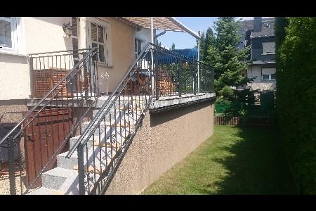 gelaender terrasse verzinkt beschichtet