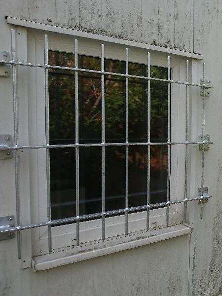 Fenstergitter verzinkzt